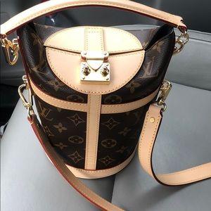 Louis Vuitton duffel bag